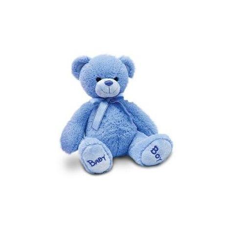 Ursulet de plus Bleu Nursery Bobby 25 cm Keel Toys