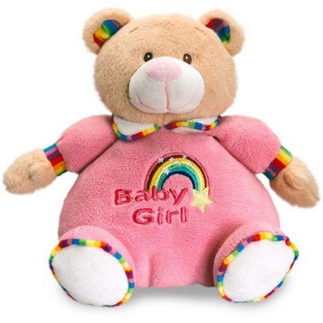 Ursulet de plus roz 26 cm Keel Toys