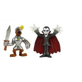Set 2 figurine Cavaler medieval si Dracula