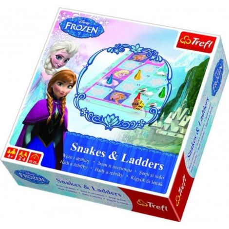 Frozen Joc de societate Snake and Ladders Trefl
