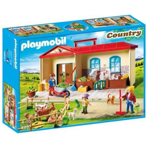 Cutie de joaca- Casuta de la tara