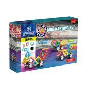 Joc Magnetic Educativ de Constructie 3D - Mini Karting Set