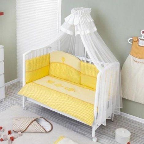 Lenjerie de pat nino 6 bb+1- morada yellow