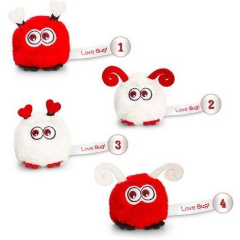 Animal de plus Love Bugs 8 cm Keel Toys