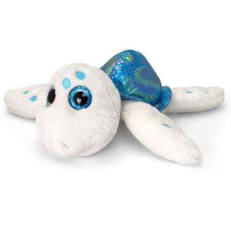 Broscuta testoasa de plus bleu Sparkle Eye 25 cm Keel Toys