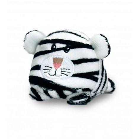 Tigru Alb de plus Bobballs 10 cm Keel Toys