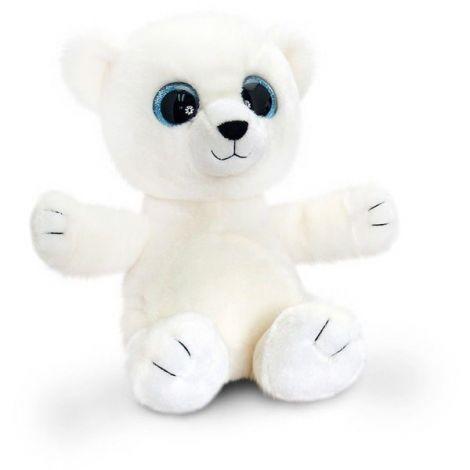 Ursulet Alb Sparkle Eye Bears 25 cm Keel Toys