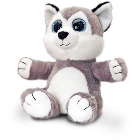 Catelus Husky de plus Sparkle Eyes 25 cm Keel Toys