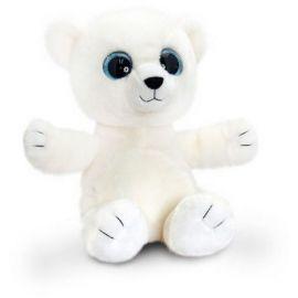 Ursulet polar de plus Sparkle Eyes 25 cm Keel Toys