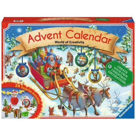 Calendar de Craciun cu diverse activitati