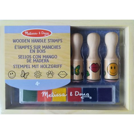 Melissa&Doug - Set de stampile Happy Handle