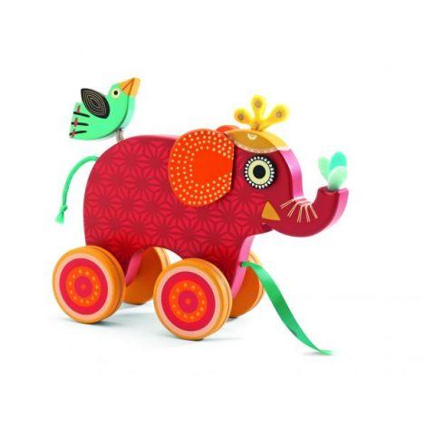 Jucărie de tras elefantul Indy