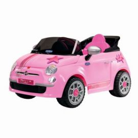 Fiat 500 Star, Peg Perego, Telecomanda, Pink