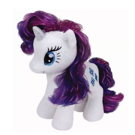 Plus licenta My Little Pony, RARITY (18 cm) - Ty