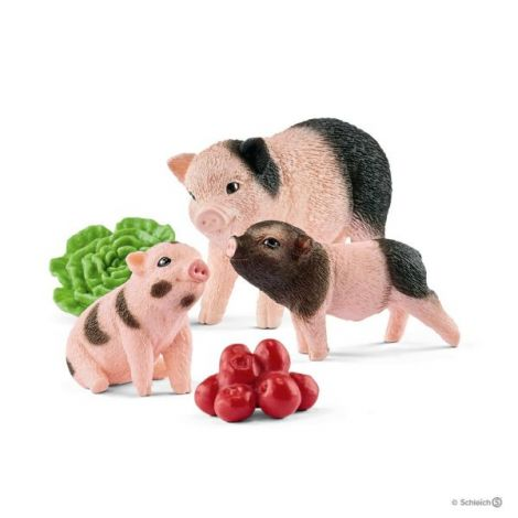 Miniatura de porc si purcei sl42422