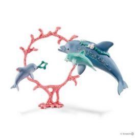 Delfini mama cu copii sl41463
