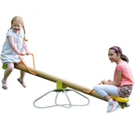Balansoar din lemn rotativ copii Kiki Trigano