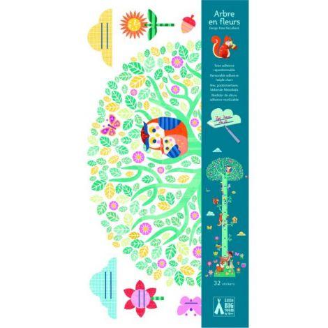 Abțibild măsurătoare pentru copii Copacul vesel