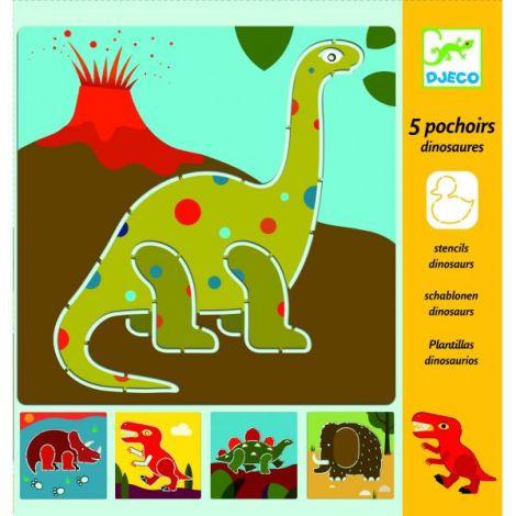 Şabloane Djeco Dinozauri