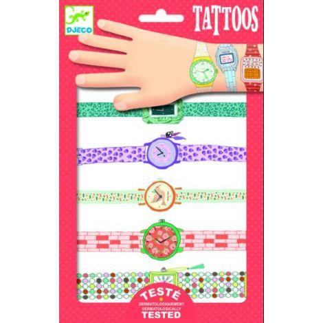 Tatuaje Djeco ceasuri