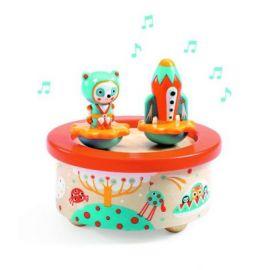 Cutie muzicală magnetică Spațiu Djeco