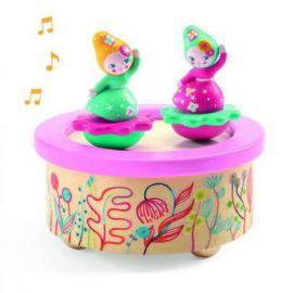 Cutie muzicală magnetică Flori Djeco