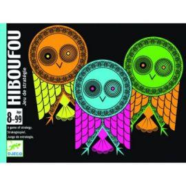 Joc de cărți Djeco Hiboufou