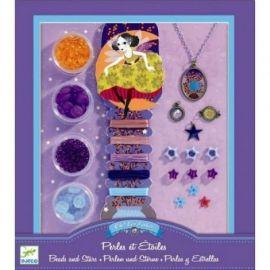 Set confecţionat bijuterii Djeco, stele