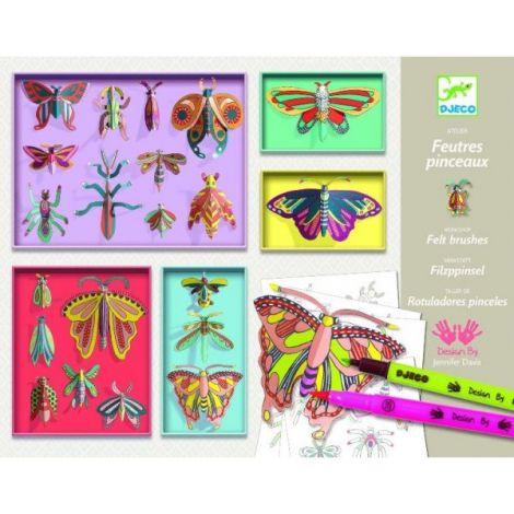 Cabinet de curiozități Djeco, Fluturi