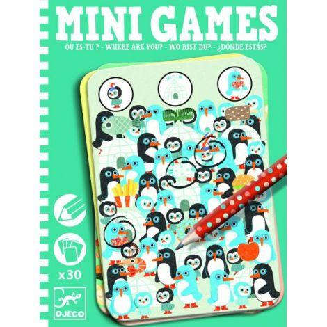 Mini games Djeco găsește personajul