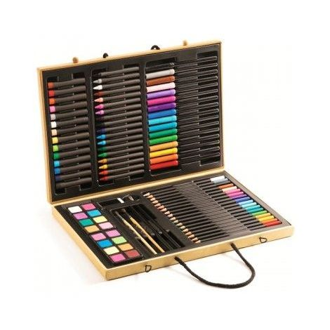 Marea cutie cu culori Djeco