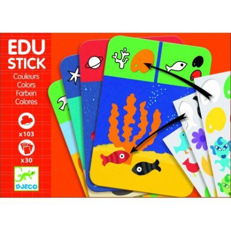 Edu-Stick Djeco,Stickere educative Culori