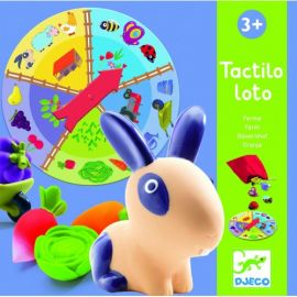 Fermă Tactilo Loto joc Djeco