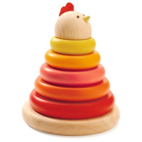 Turn Montessori Djeco Găină imagine