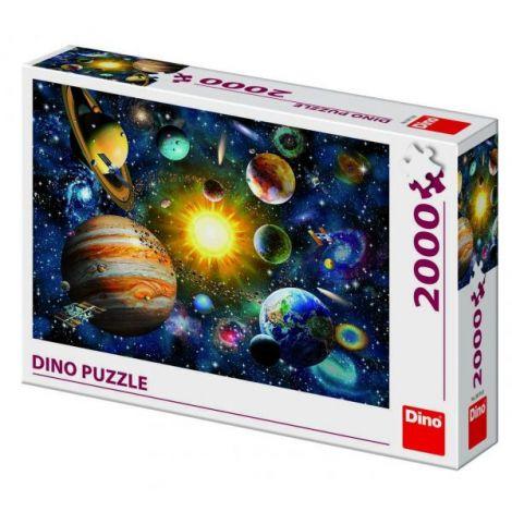 Puzzle - Sistemul Solar (2000 Piese) imagine