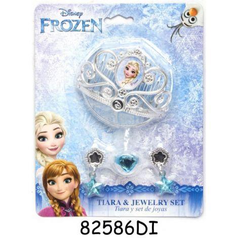 Diadema si set bijuterii cu 4 piese - frozen