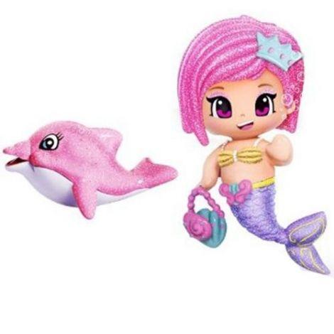 Pyp figurine - sirena cu delfin