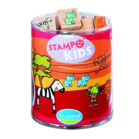 Set creativ stampo kids savana