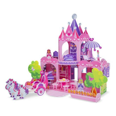 Puzzle 3D Palatul Purpuriu