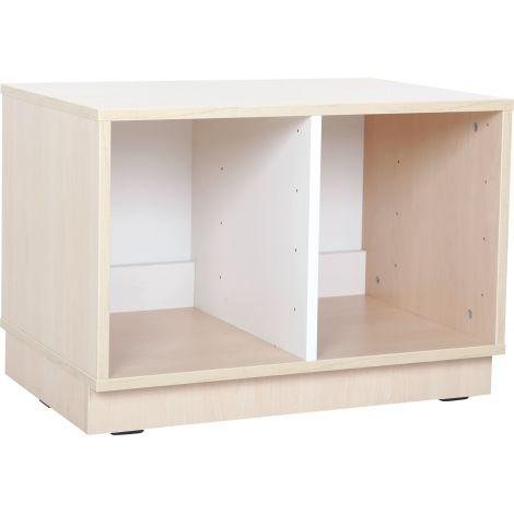 Dulap Quadro S pentru cutii depozitare 1 partitie
