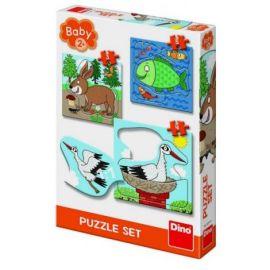 Baby puzzle - unde locuiesc animalele?