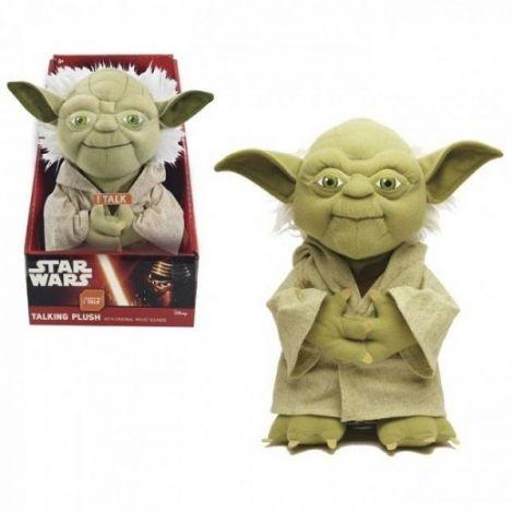 Star Wars plush cu functii Yoda 22 cm