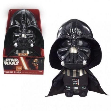Star Wars Darth Vader Plush Cu Functii 22 Cm imagine