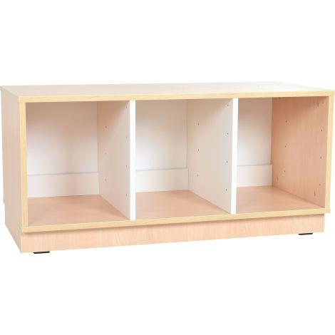 Dulap Quadro S pentru cutii depozitare 2 partitii