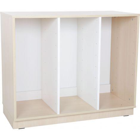 Dulap Quadro M pentru cutii depozitare 2 partitii