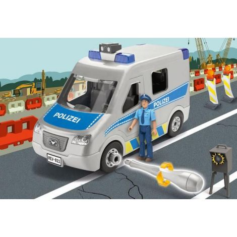 Revell junior kit masina de politie rv0811