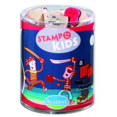 Set creativ stampo kids pirati