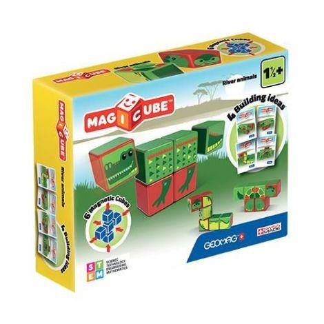 Set Constructie Magnetic Magicube Animale Marine