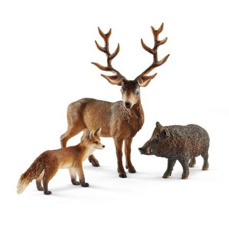 Set figurine schleich animale din padurile europene sl41458