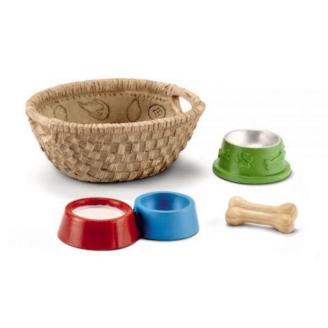 Set accesorii schleich hrana pentru caini si pisici sl42293